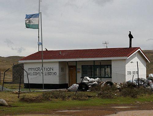 Lesotho_Border_Post